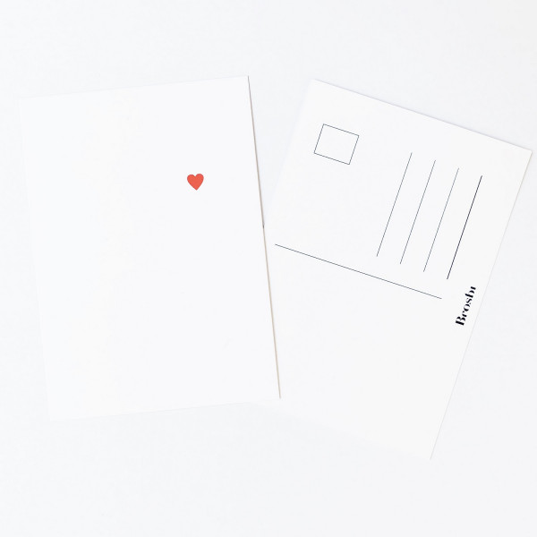 The Icon Postcard - Heart