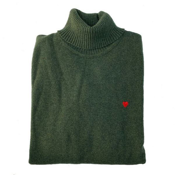 The Icon Rollneck - Heart