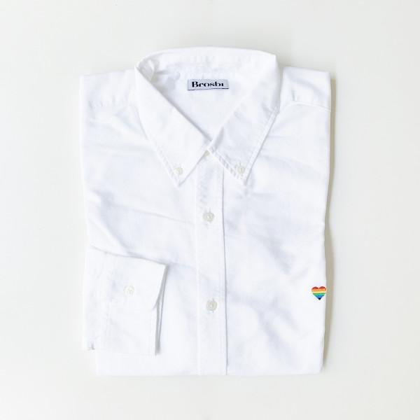 The Icon Shirt - Rainbow Heart