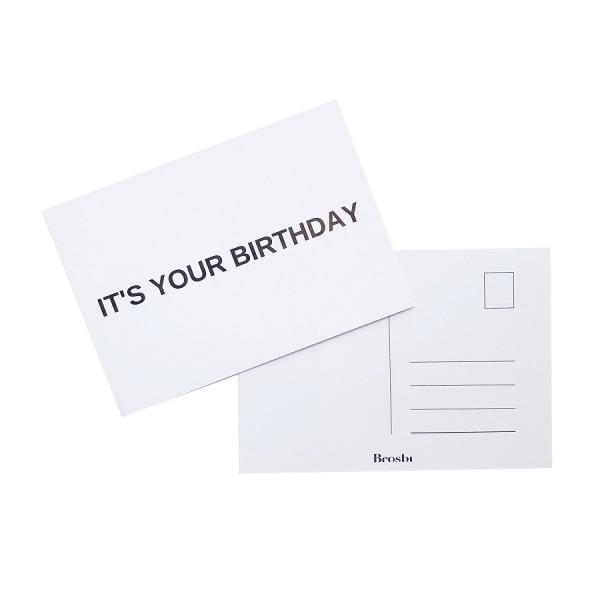 The Birthday Postcard